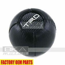 PTR04-00000-06 Toyota Lexus Scion Genuine OEM TRD Leather Carbon Gear Shift Knob
