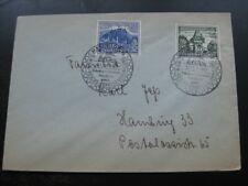 THIRD REICH 1939 Winterhilfswerk stamps on cover w/ commemorative cancel!