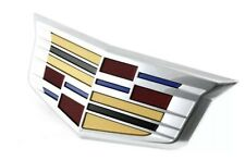 OEM NEW Front Bumper Grille Emblems Badge 2016 Cadillac ATS 23180160
