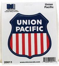 """Die-Cut Vinyl Stickers 4"""" - Union Pacific Model trains"""