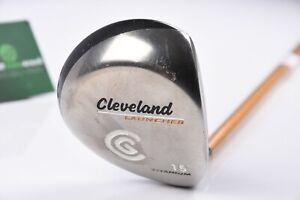Cleveland Launcher #3 Wood / 15 Degree / Regular Flex Launcher Gold / CLFLAU352