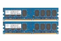 For Nanya 4GB (2 x 2GB) PC2-6400 1.8V DIMM 240Pin DDR2 800Mhz Desktop RAM Memory
