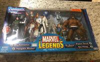 ToyBiz FANTASTIC FOUR Marvel Legends Action Figure Box Set New With RARE variant