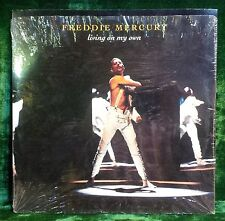 "FREDDIE MERCURY QUEEN LIVING ON MY OWN 12"" 4-track LP HOLLYWOOD RECORDS 1993"