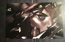 Marvel Avengers Black Panther & Black Widow Art Print Marvel Gear & Goods Exc