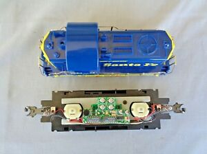 NEW O /O27 Scale RTM Power Chassis & Taylor Trucks Beep Santa Fe Diesel Switcher