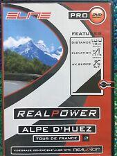 Elite ALPE D'HUEZ Tour De France TDF RealPower RealAxiom RealTour Trainer CD/DVD