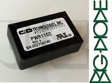 1 x PWR1102 C&D Technologies Isolated DC/DC Converters 1.5W UNREG 5V IN 15V OUT