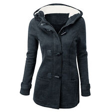 Women's Warm Coat Jacket Outwear Trench Winter Hooded Long Parka Overcoat Tops