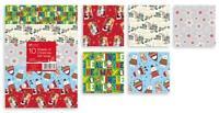 10 20 40 Sheet Gift Wrap Wrapping Paper Flat Sheet Classic Cute Assorted Xmas
