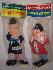 Knickerbocker Oliver Hardy and Stan Laurel Bend em dolls mint in clean packages