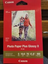 Canon Photo Paper Plus Glossy II 4 X 6 - 100 Sheets