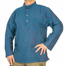 Cotton Grandad Regular Fit Casual Shirts for Men