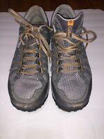 Columbia Techlite Fluidframe Trail Gray Running Shoe Men's Size 11.5
