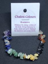 Chakra Gemstone Crystal Chip Bead Stretch Healing Bracelet BUY 2 GET 1 FREE