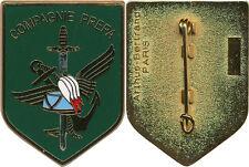 Lycée Militaire d'AUTUN, COMPAGNIE PREPA Saint CYR, fond vert, A.Bertrand (4407)