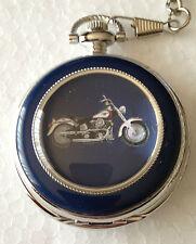 Harley Davidson Fat Boy / Heritage Springer Pocket watch Brand New