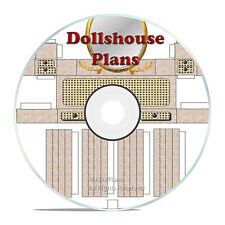 DOLLS HOUSE PLANS, BUILD SOME CRAFTS FOR THE GRANDCHILDREN, GREAT PROJECT