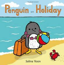 Penguin on Holiday Salina Yoon New Children's Picture Book Paperback RRP £5.99