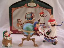 2001 Hallmark Collector's Club 3-Piece Ornament Set~Nib