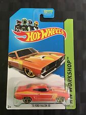 HOTWHEELS 1:64 Diecast Car - '73 XB FORD FALCON COUPE GT351 - Orange