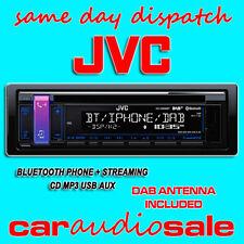 JVC KD DB98BT Digital Radio CD MP3 AUX USB Bluetooth Estéreo De Coche Camioneta + Dab Antena