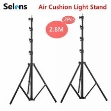 2X Light Stand 280cm 9ft Air Cushion For Softbox Lamp Holder Mount Flash Strobe