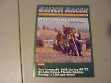 SPRING 2005 BENCH RACER MAGAZINE,KENT HOWERTON INTERVIEW MX HERO,59 HARLEYKR TT,