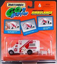 Matchbox Go! Action Fast Savin' Ambulance