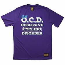 OCD Obsessive Cycling Disorder - Breathable Sports T-SHIRT Gift Present Bike
