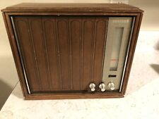 Vtg Wood 1960's Zenith Model A429P AM/FM Radio Solid State Works and Sounds Good