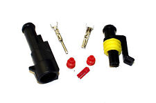 SUPERSEAL AMP TYCO WATERPROOF TERMINAL ELECTRICAL CONNECTOR 1 WAY 1.5-2.5 KIT