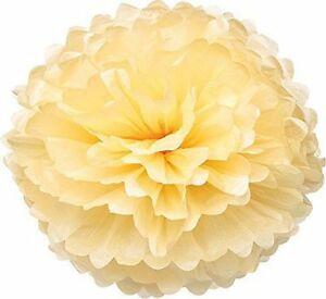 "15X MIX 3 SIZE 4"" 8"" 12"" Tissue Paper Pom-Poms Flower Wedding Party Home Decor"