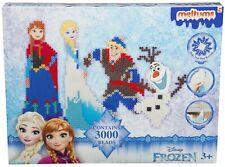 Frozen Die Eiskönigin mit Olaf Bügelperlen Set mit 3000 Perlen 29 cm x 25 cm NEU