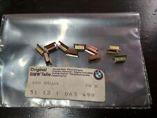 BMW E21-E30-E12-E28-E3-E23 exterior trim clamps(10) !NEW! GENUINE 51131863499
