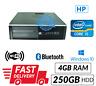 Cheap PC HP 8100 Elite SFF Core i5 4GB RAM 250GB HDD Windows 10 DVD RW WiFi