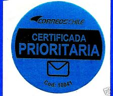 CHILE, OFFICIAL CORREOSCHILE UNUSED POSTAL STICKER # 16