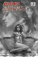 RED SONJA AGE OF CHAOS #2 DYNAMITE 40 COPY PARRILLO B&W