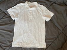 GYMBOREE Boys Uniform Polo Shirt Collared Size 7 NEW NWT White