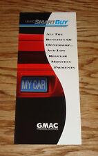 Original 1992 GM GMAC SmartBuy Smart Buy Sales Brochure 92 Chevrolet Buick