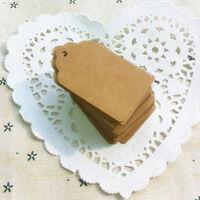 Eg _ Sn _ Qa _ 100pcs Mariage Fête Papier Accrochage Étiquettes Cadeau Ponch