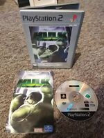 The Hulk - Sony Playstation PS2 Superhero Game - COMPLETE With MANUAL! Free P&P!