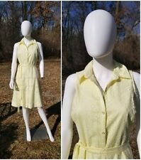Vineyard Vines by Shep & Ian eyelet Yellow dress size 6