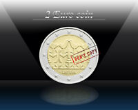 LITHUANIA 2 EURO 2018 (Lithuanian Song and Dance celebration) Commem. Coin *UNC