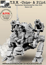 "MAiM 1/35 T.R.W.""Unke"" Open Version w/Pilot:Tactical Missile Launcher(2in1)"