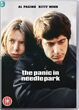 The Panic in Needle Park DVD 70s Film Movie Based On The Book By James Mills