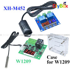 W1209 XH-M452 12V LED Digital Display Thermostat Temperature Humidity Controller