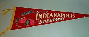 INDIANAPOLIS 500 PENNANT