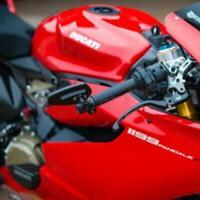 """Rearview Motorcycle 7/8"""" Bar End Side Mirrors For Honda Suzuki Yamaha Kawasaki"""