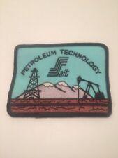 Vtg SAIT Petroleum Technology Patch Oil Gas Southern Alberta Institute Calgary